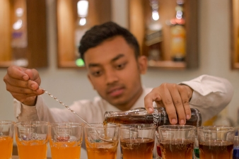 Bar at Pokhara Batika